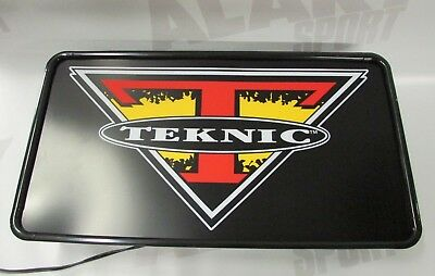 Lightbox Teknic sign Lighting Fixture Illuminated for Clothing