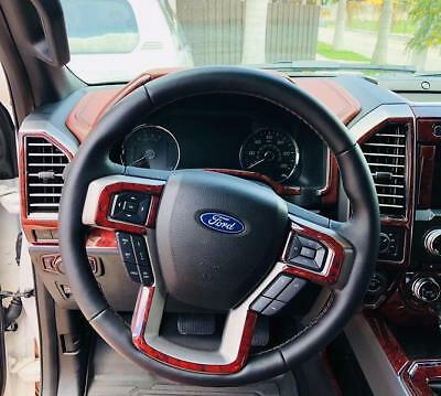 Ford Expedition Xlt Limited Platinum Interior Wood Dash Trim Kit Set 2018 2019