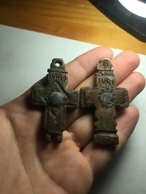 Byzantine-Bone-Christian-Cross-Pendant two