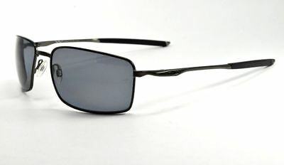 55203bad90 Oakley Square Wire Sunglasses OO4075-09 Black  Prizm Daily Polarized Lenses