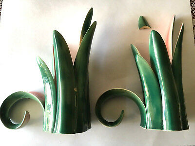 Pair of Vintage Will George Candle Holders - WG Authentic Mark