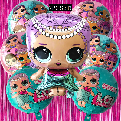 MERBABY LOL SURPRISE DOLL Birthday Party Balloon Balloons Supplies Decoration