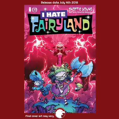I HATE FAIRYLAND #20 CVR A YOUNG 1st Print (WK27.18) (W) Skottie Young
