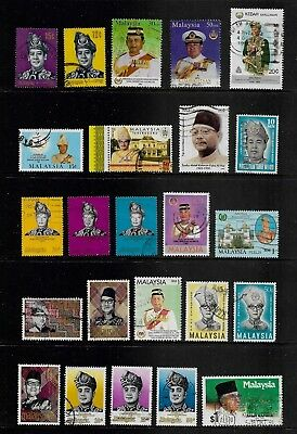 MALAYSIA mixed collection No.24, used