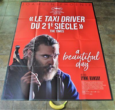YOU WERE NEVER REALLY HERE Movie Poster - MASSIVE! - Original - French - NEW