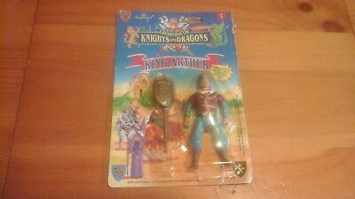 Legends Of Knights And Dragons King Arthur- Imperial Toy Corp- NEW RARE