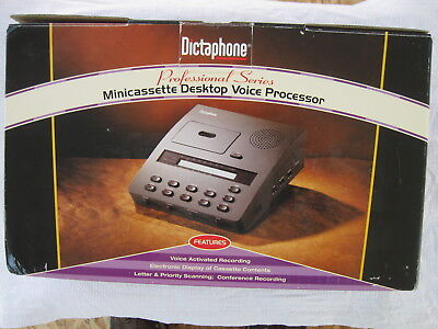 Dictaphone DTP-1750 MINIcassette ExpressWriter Plus  + Headset & Foot Pedal