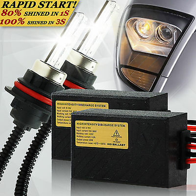SUNWOIF Fast QUICK START XENON HID CONVERSION KIT H1 H3 H4-3 H7 H8 H11 9004 9007