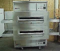 Middleby Marshall PS360WB Double Stack Gas Conveyor Pizza Oven - Warranty Avail.
