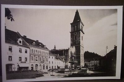 Rare ancien photo cartes postales Judenburg AUTRICHE 1931