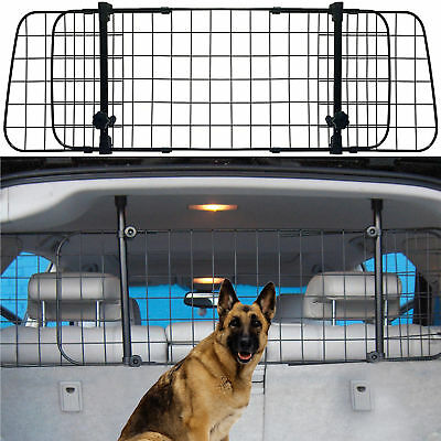Pet Dog Guard Car Headrest Travel Mesh Grill Safety Adjustable Barrier Fence Net