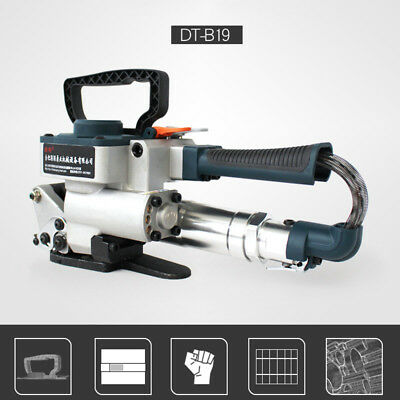 Hand-held Pneumatic Strapping Tool Strap Welding Banding Packaging Baler Machine