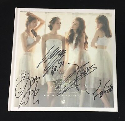 "KARA autographed ""Day & Night"" 6th Mini Album signed PROMO CD"