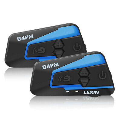Newest LEXIN-B4 Motorcycle Helmet Intercom 4Riders talk at the same time with FM