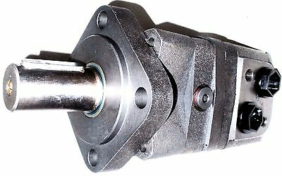 Hydraulic Motor 200 cc/rev Straight Keyed Shaft 32 mm Side Ports G1/2