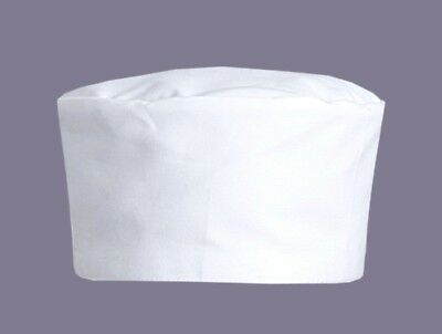 Highliving Chefs Skull Cap Chef Hat Professional Catering Chef Cap