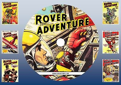 Rover & Adventure Comics On DVD Rom