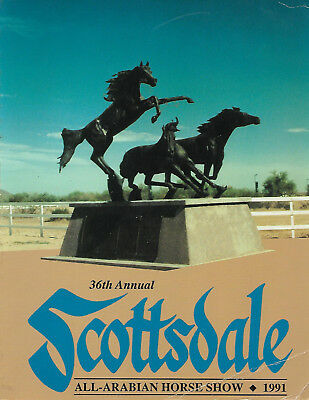 1991 33nd Annual Scottsdale All Arabian Horse Show Program