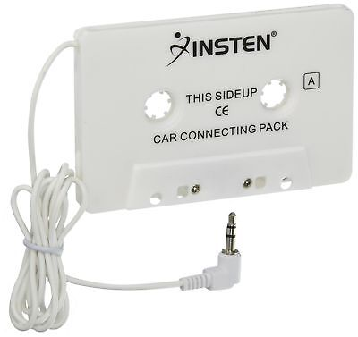 Insten Car Cassette Tape Adapter For Cd Mp3 Ipod Touch