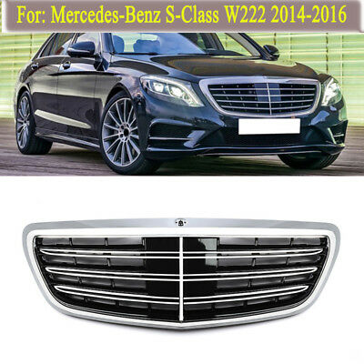 For Mercedes Benz W222 S350 S400 500 600 Grille Refit S65AMG Maybach Style Grill