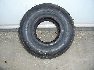 1 Condor Aircraft Tire 15 X 6.00 - 6 , 120 MPH , 6 Ply Rated Tube Type 072-449-0