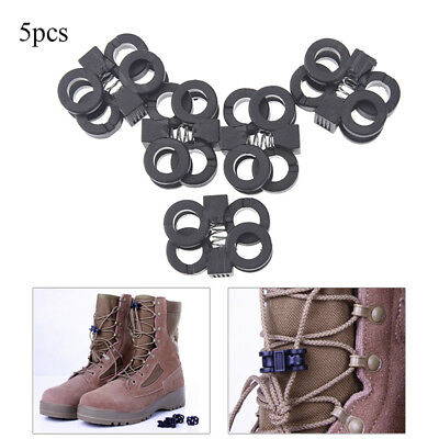 5pcs attach nylon shackle carabiner d-ring clip webbing backpack buckle RAZY