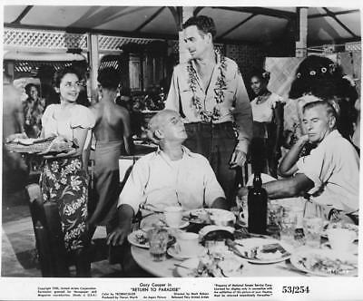 "Scene from -""Return To Paradise""  Vintage Movie Still"
