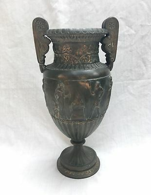 Antique Large Roman Greek Copper Vase Urn Grand Tour French Empire Neoclassical