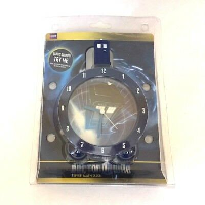 Doctor Who Tardis Topper Alarm Clock w/ Sounds Official Licensed New in Package