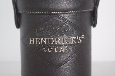 Logo Embroidered HENDRICK'S Gin Transport / Bottle Carrier w/ Carry Strap
