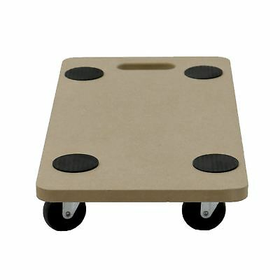 200kg Anti Slip Hand Dolly Trolley Cart Furniture Moving Wooden Platform Mover