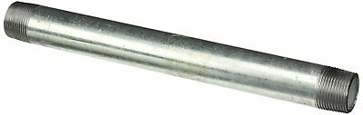 "(8) 1/8"" NPT x 5-1/2"" Long Threaded Galvanized Pipe Nipples Schedule 40 New"