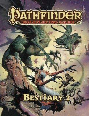 Pathfinder Roleplaying Game: Bestiary 2,HC,Paizo Staff - NEW
