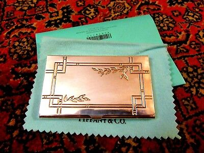 Tiffany & Co 925 Sterling Silver Business Card Holder