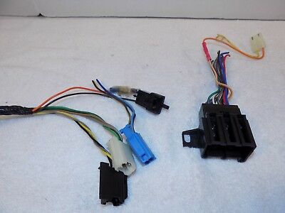 1987 Firebird Camaro Factory Stereo Connection Harness With Cd Player Adapter