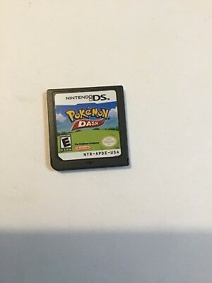 Pokemon Dash Game (Nintendo DS, 2005) Cartridge Only Free And Fast Shipping