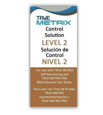 Control Solution Level 2 for TRUE Metrix Meter