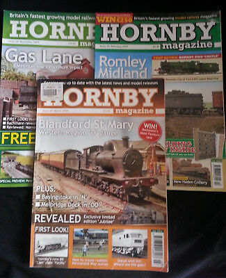 3 x Hornby Magazines 2009 and 2010