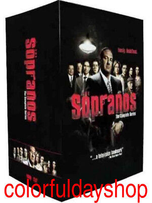 The Sopranos: The Complete Series 1-6 (DVD, 2014, 30-Disc)BoxSet +Free shipping