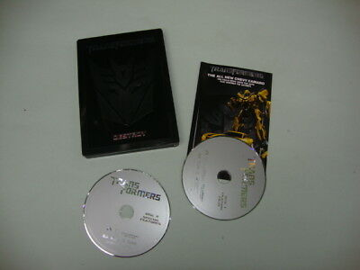 Transformers (DVD, 2007, 2 Disc Steel Book Edition)