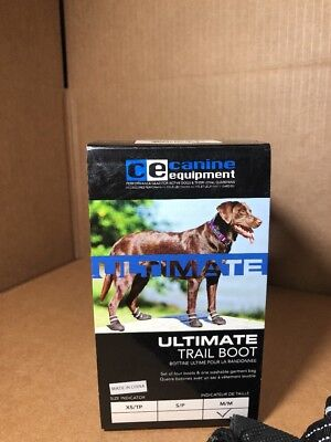 Canine Equipment Ultimate Trail Boots Various Sizes - New