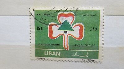 1962 Lebanon Scouts Movement Stamp Liban H