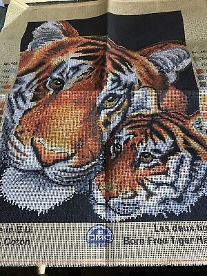 Tiger Heads Tapestry Canvas