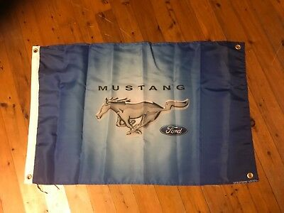 Man cave bAnner sign Mustang Ford flag poster bar wallhanging poolroom flag ford