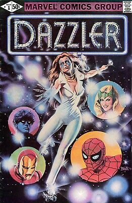 Us Comics Dazzler Vol 1 Complete Digital Collection On Dvd