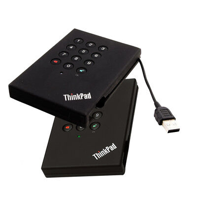 "Lenovo ThinkPad USB Portable Secure Hard Drive 500GB S-ATA - 2.5""  USB 2.0"