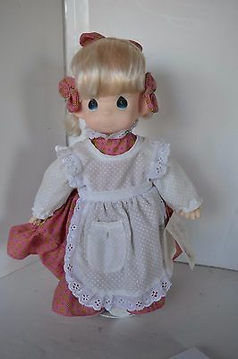 Vintage Precious Moments Doll Patty Happiness is the Lord No Goose