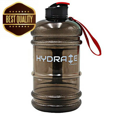 Hydrate 2.2 Litre Water Bottle - Now With Easy Drink Cap - Durable & Extra...
