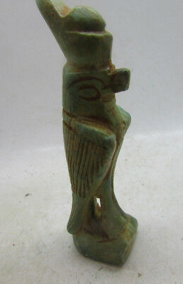 Undated Egyptian Glazed Horus Statuette