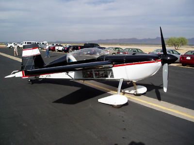 Plans For Homebuild 2 Seat High Perfomance Airbatic Airplane With Lycoming 540